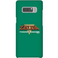 Nintendo The Legend Of Zelda Retro Logo Phone Case - Samsung Note 8 - Snap Case - Matte