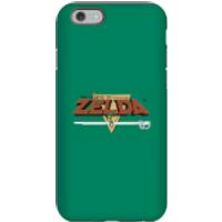 Nintendo The Legend Of Zelda Retro Logo Phone Case - iPhone 6S - Tough Case - Gloss