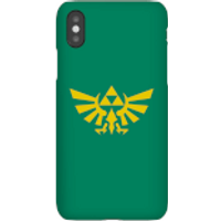 Nintendo The Legend Of Zelda Hyrule Phone Case - iPhone X - Snap Case - Gloss - Zelda Gifts