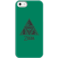 Nintendo The Legend Of Zelda Triforce Phone Case - iPhone 5/5s - Snap Case - Matte - Zelda Gifts