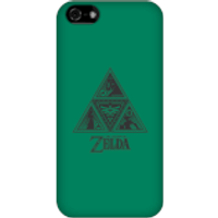 Nintendo The Legend Of Zelda Triforce Phone Case - iPhone 5C - Snap Case - Matte - Zelda Gifts