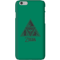 Nintendo The Legend Of Zelda Triforce Phone Case - iPhone 6 - Snap Case - Matte - Zelda Gifts
