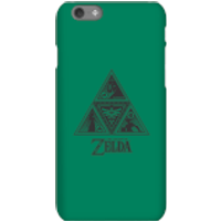 Nintendo The Legend Of Zelda Triforce Phone Case - iPhone 6S - Snap Case - Matte - Zelda Gifts