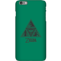 Nintendo The Legend Of Zelda Triforce Phone Case - iPhone 6 Plus - Snap Case - Matte - Zelda Gifts