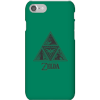 Nintendo The Legend Of Zelda Triforce Phone Case - iPhone 7 - Snap Case - Matte - Zelda Gifts