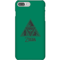 Nintendo The Legend Of Zelda Triforce Phone Case - iPhone 7 Plus - Snap Case - Matte - Zelda Gifts