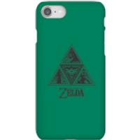 Nintendo The Legend Of Zelda Triforce Phone Case - iPhone 8 - Snap Case - Matte - Zelda Gifts