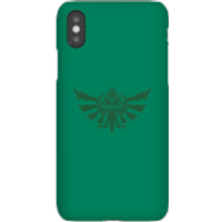 Nintendo The Legend Of Zelda Tribal Hyrule Crest Phone Case - iPhone 5/5s - Tough Case - Gloss