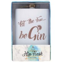 Let The Fun Be Gin Hip Flask - Fun Gifts