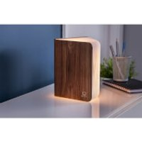 Gingko Large Smart Book Light - Walnut - Book Gifts