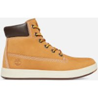 Timberland Kids' Davis Square 6 Inch Leather Boots - Wheat - UK 12 Kids