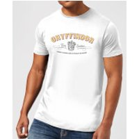 Harry Potter Gryffindor Team Quidditch Men's T-Shirt - White - XXL - White - Gryffindor Gifts