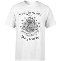 Harry Potter Waiting For My Letter From Hogwarts Mens T-Shirt - White - L - White