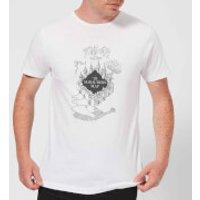 Harry Potter The Marauder's Map Men's T-Shirt - White - XL - White