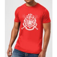 Harry Potter Hogwarts House Crest Men's T-Shirt - Red - XXL - Red