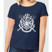 Harry Potter Hogwarts House Crest Women's T-Shirt - Navy - L - Navy - House Gifts