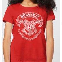 Harry Potter Hogwarts Crest Women's T-Shirt - Red - XL - Red