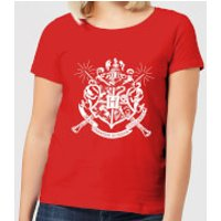 Harry Potter Hogwarts House Crest Women's T-Shirt - Red - XXL - Red - House Gifts