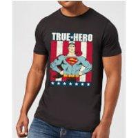 DC Originals Superman True Hero Men's T-Shirt - Black - S - Black