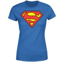 DC Originals Official Superman Shield Women's T-Shirt - Royal Blue - XXL - Royal Blue - Superman Gifts