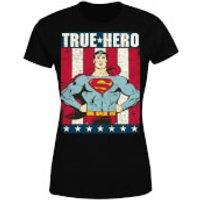 DC Originals Superman True Hero Women's T-Shirt - Black - XXL - Black - Superman Gifts