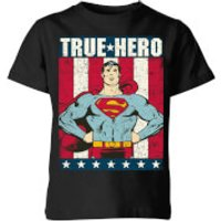 DC Originals Superman True Hero Kids' T-Shirt - Black - 11-12 Years - Black