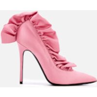 MSGM-Womens-Frill-Court-Shoes-Pink-UK-6-Pink