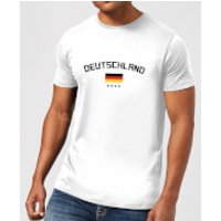 Deutschland Men's T-Shirt - White - XXL - White