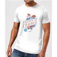 Equipe De France Men's T-Shirt - White - XXL - White - France Gifts