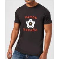 Vamos Espana Mens T-Shirt - Black - S - Black