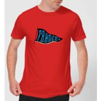France Pennant Men's T-Shirt - Red - XXL - Red - France Gifts