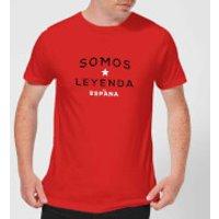Somos Leyenda Men's T-Shirt - Red - S - Red