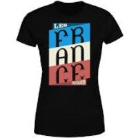 Les Tricolores Women's T-Shirt - Black - XS - Black