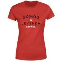 Somos Leyenda Women's T-Shirt - Red - XXL - Red