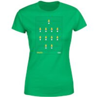 Brazil Fooseball Women's T-Shirt - Kelly Green - L - Kelly Green