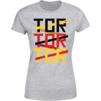 TOR TOR TOR Women's T-Shirt - Grey - XS - Grey