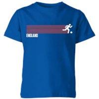 England Forward Kids' T-Shirt - Royal Blue - 11-12 Years - Royal Blue - England Gifts