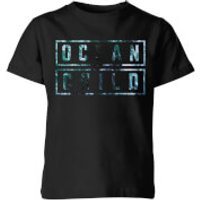 My Little Rascal Ocean Child Kids' T-Shirt - Black - 11-12 Years - Black - Ocean Gifts