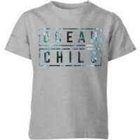 My Little Rascal Ocean Child Kids' T-Shirt - Grey - 11-12 Years - Grey - Ocean Gifts