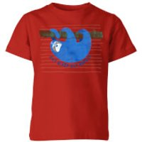 My Little Rascal Eat Sleep Eat Repeat Kids' T-Shirt - Red - 11-12 Years - Red - Sleep Gifts