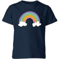 My Little Rascal Rainbow Kids' T-Shirt - Navy - 7-8 Years - Navy - Rainbow Gifts