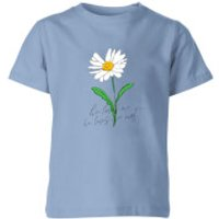 My Little Rascal He Loves Me, He Loves Me Not Kids' T-Shirt - Baby Blue - 9-10 Years - Baby Blue - Baby Gifts