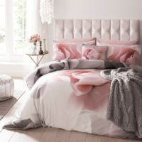 Ted Baker Porcelain Rose Duvet Cover - Pink - Super King
