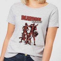 Marvel Deadpool Family Group Women's T-Shirt - Grey - S - Grey