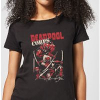 Marvel Deadpool Family Corps Women's T-Shirt - Black - XL - Black