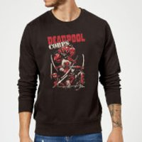 Marvel Deadpool Family Corps Sweatshirt - Black - L - Black