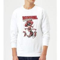 Marvel Deadpool Family Corps Sweatshirt - White - M - White