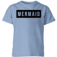 My Little Rascal Mermaid - Baby Blue Kids' T-Shirt - Royal Blue - 9-10 Years - Baby Blue - Baby Gifts