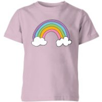 My Little Rascal Rainbow - Baby Pink Kids' T-Shirt - 3-4 Years - Baby Pink - Baby Gifts