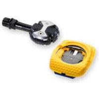 Speedplay Zero Cromoly Pedals - Walkable/Aero Cleats - Blue